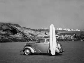 Porth Beach Cornwall, 1966