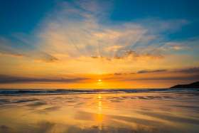 Sunset Rays 1