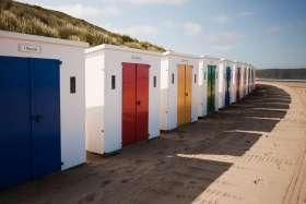 Woolacombe Beach Huts 1