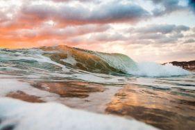 Woolacombe Sunset Wave