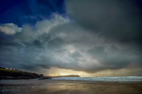 Dramatic Cloud Bank, Polzeath
