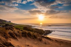 Croyde High Tide Sunset