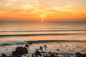 Sunset at Widemouth