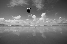 Kitesurfer, Westward Ho!