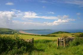 Woolacombe View, Looking S.W.