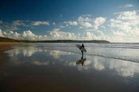 Reflective Surfer, Woolacombe