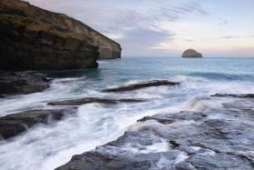 Sunrise At Trebarwith Strand