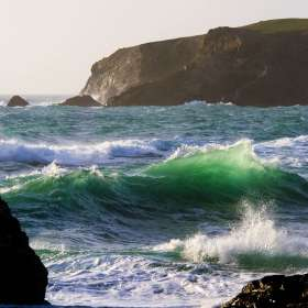 Emerald Wave, Bedruthan Steps