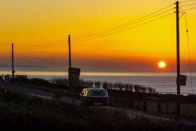 Californian VW Sunset, Croyde