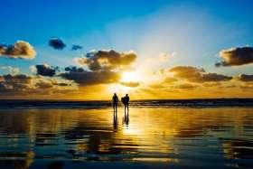 Saunton Sunset Surfers