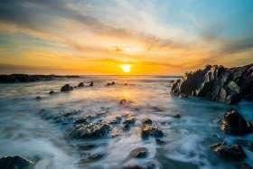 Woolacombe, Shell Beach Sunset