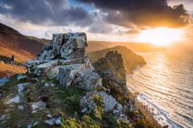 Valley Of The Rocks, Sunset
