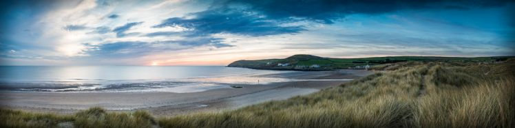 Croyde Bay and Baggy Point Sunset