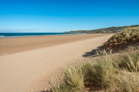 Early Morning on Woolacombe Beach