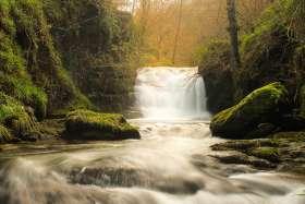 East Lyn Falls