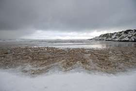 Beach Snow Melt 2