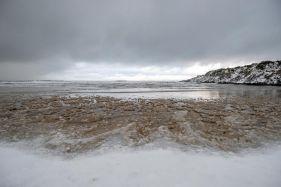 Beach Snow Melt 2
