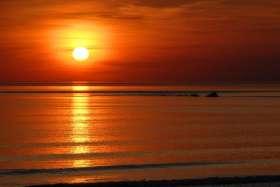 Flaming June Sunset Study 13