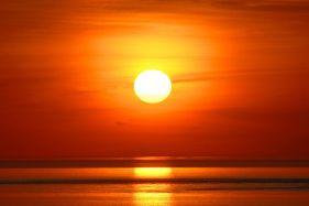 Flaming June Sunset Study 14