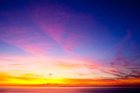 Sunset Over Lundy