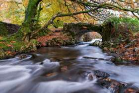 Robbers' Bridge, Exmoor