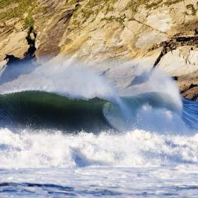 Winter swell hits croyde