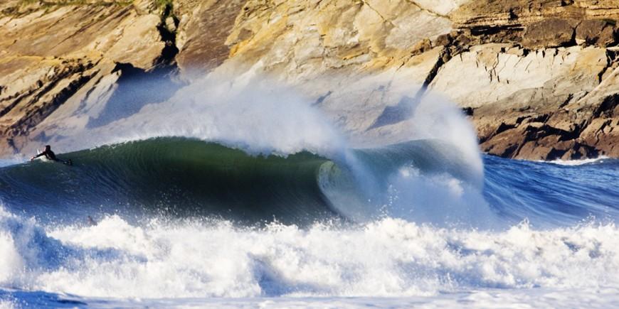 Winter swell hits croyde