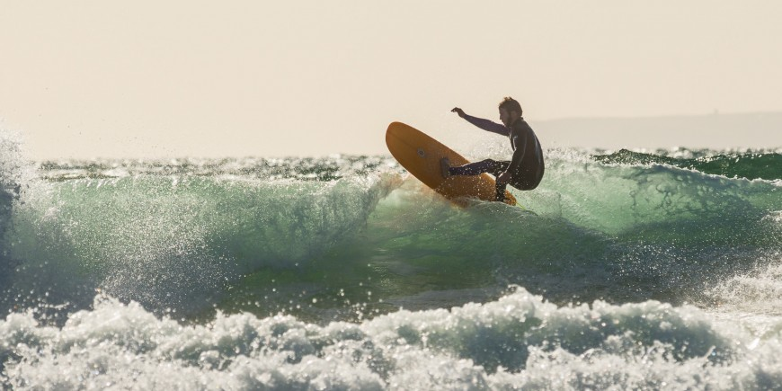 Sea Pea ridden by Wil from Gulf stream surfboards